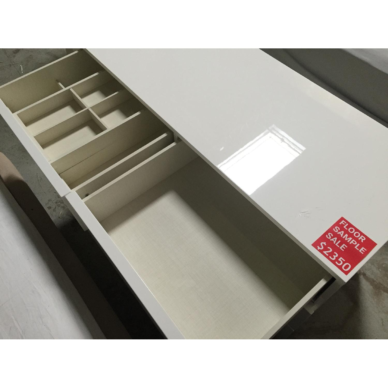 Lazzoni White Dresser - image-7