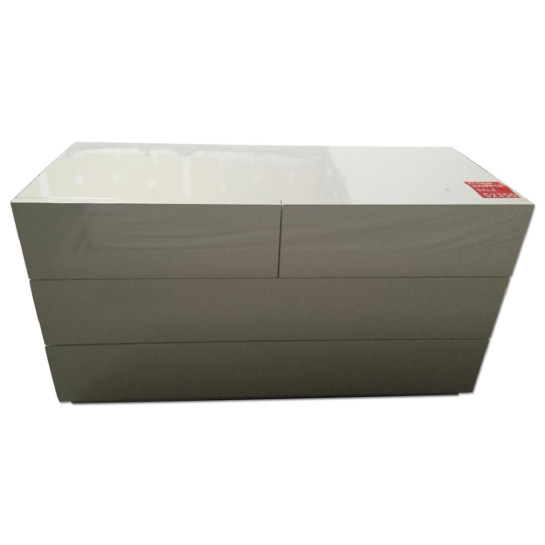 Lazzoni White Dresser - image-0