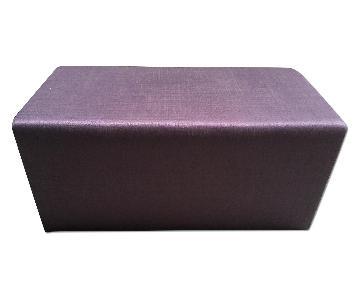 Lazzoni Purple Ottoman