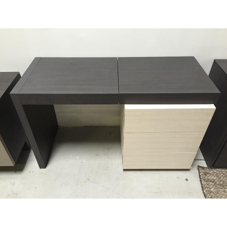 Lazzoni Brown Desk - image-1