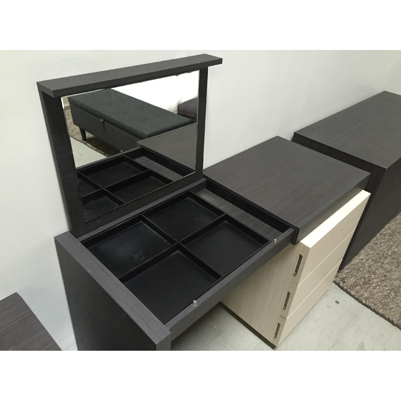 Lazzoni Brown Desk - image-7