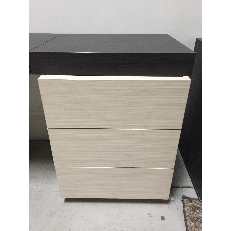 Lazzoni Brown Desk - image-8