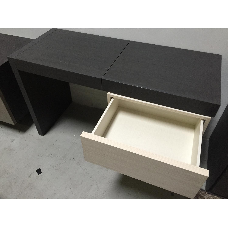 Lazzoni Brown Desk - image-9