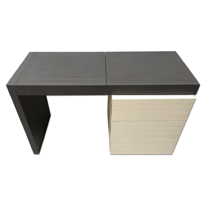 Lazzoni Brown Desk - image-0