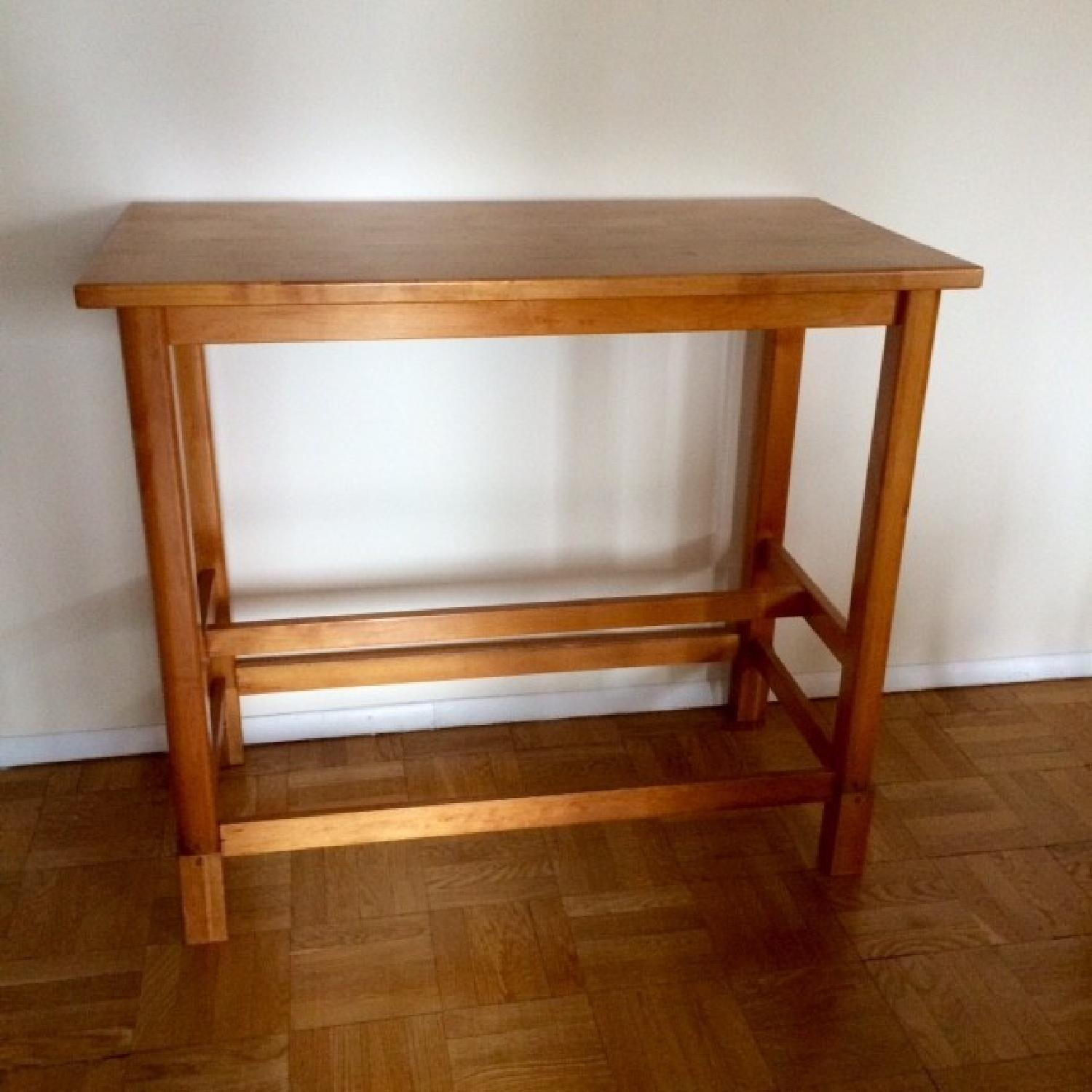 Gothic Cabinet Craft Bar Height Table - image-1