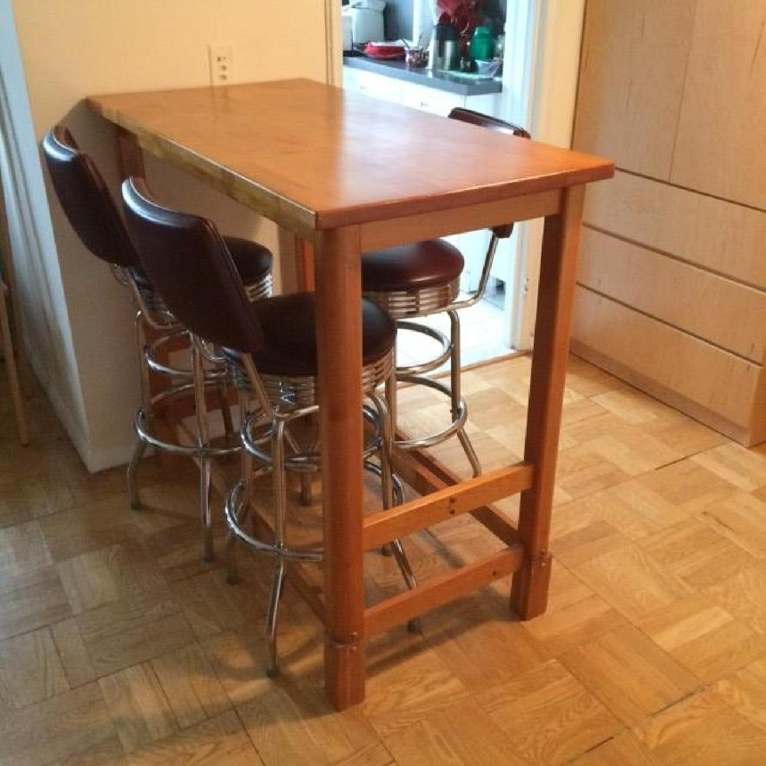 Gothic Cabinet Craft Bar Height Table - image-3