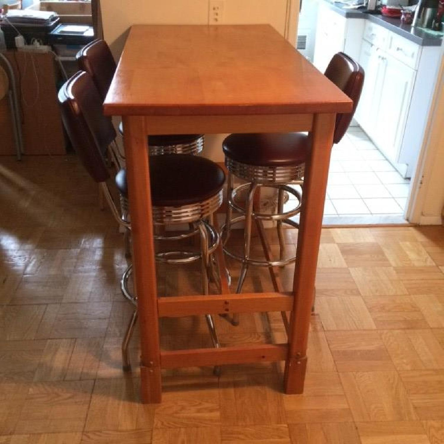 Gothic Cabinet Craft Bar Height Table - image-4