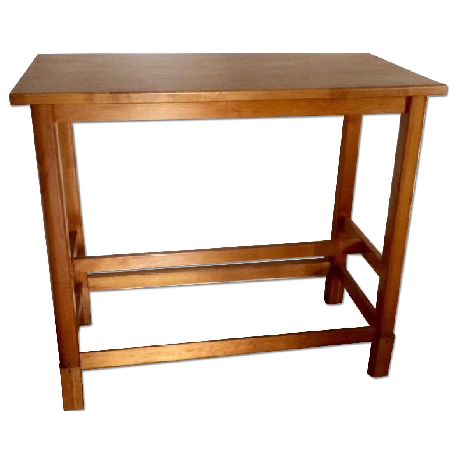 Gothic Cabinet Craft Bar Height Table - image-0
