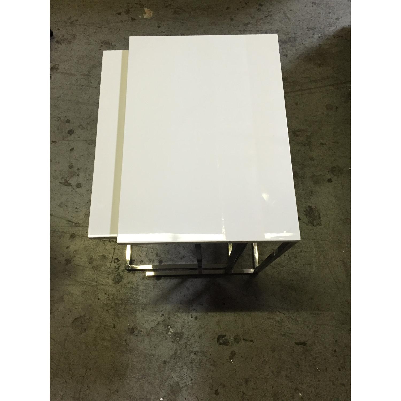 Lazzoni White Nesting Tables - image-3