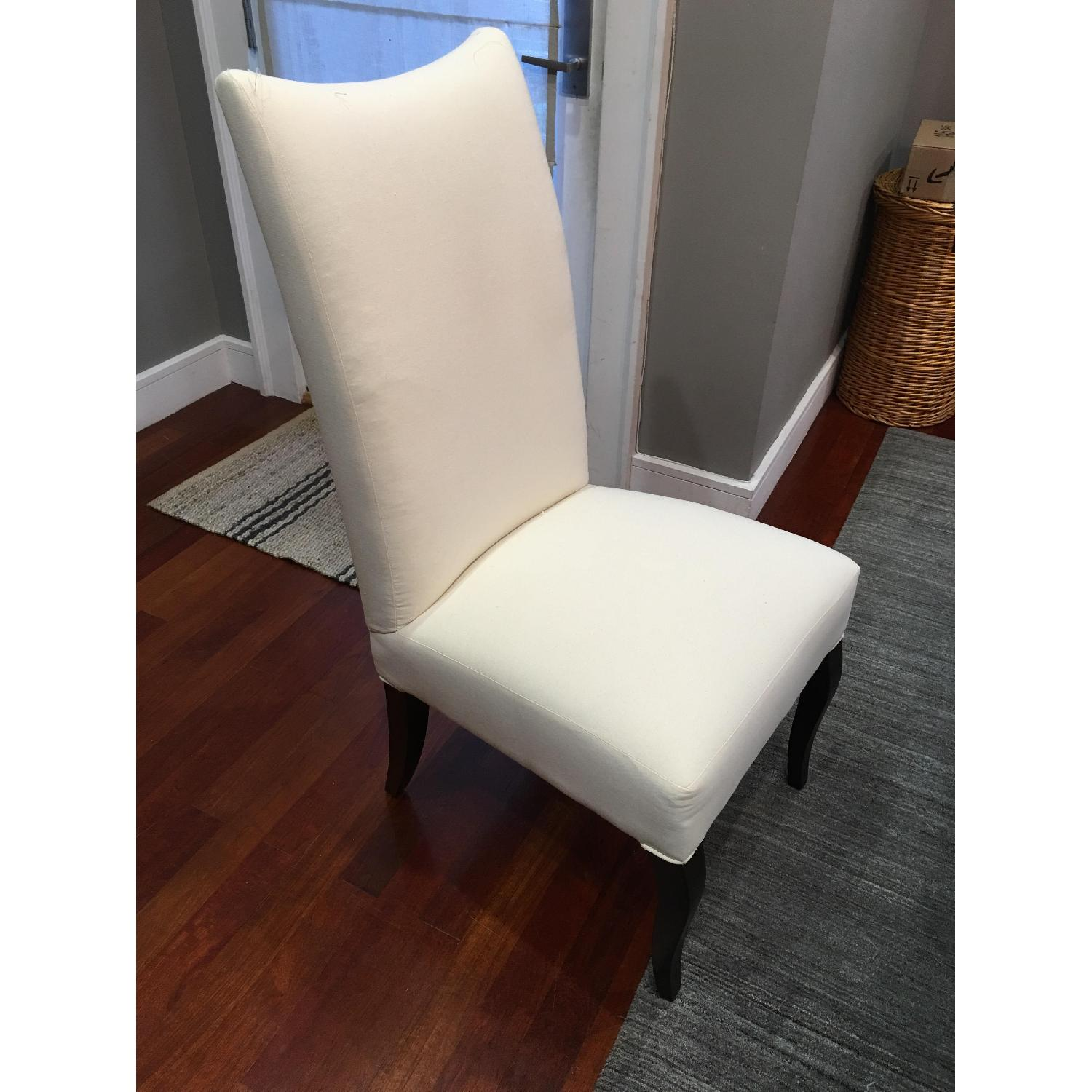 Lee Industries Slip-Covered Dining Chairs - image-3