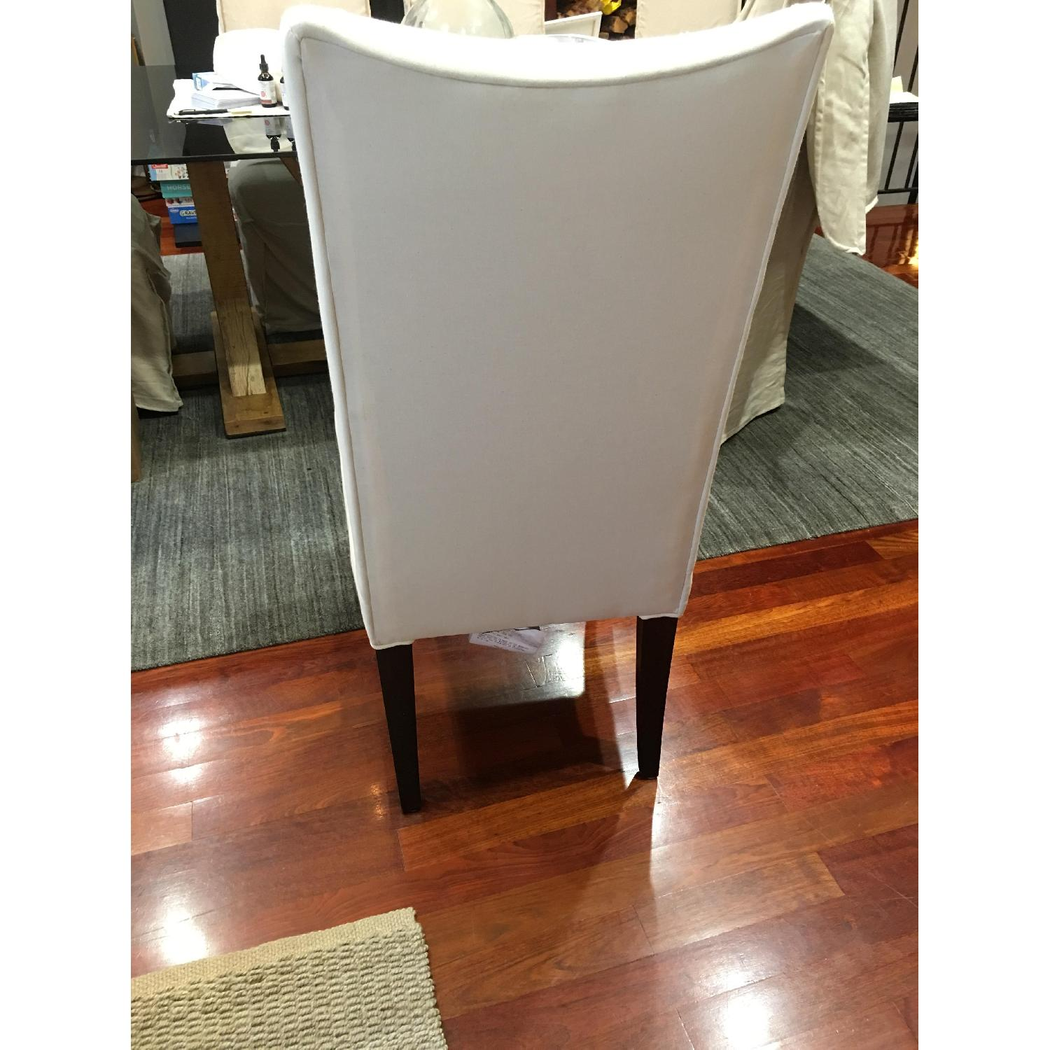 Lee Industries Slip-Covered Dining Chairs - image-4