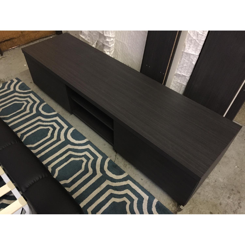 Lazzoni Wood TV Stand - image-1