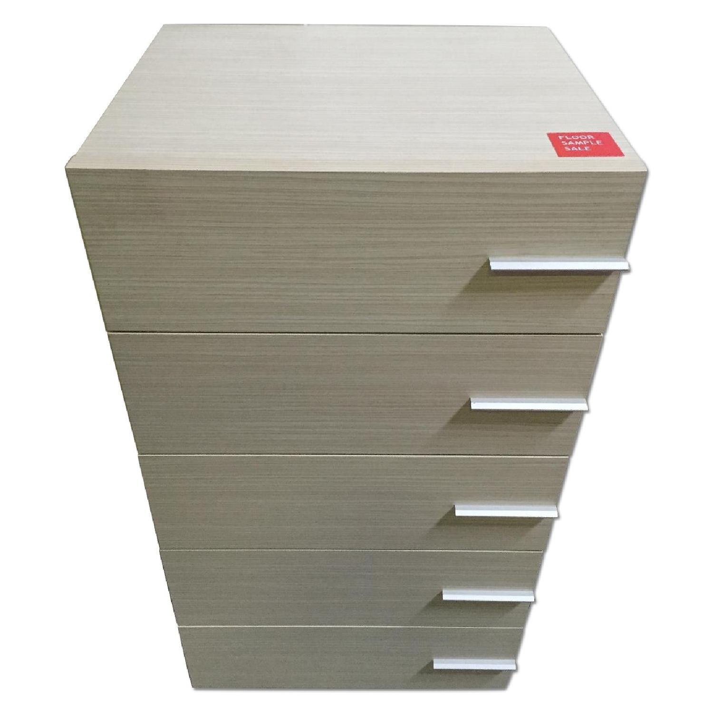 Lazzoni Maple High Dresser - image-0
