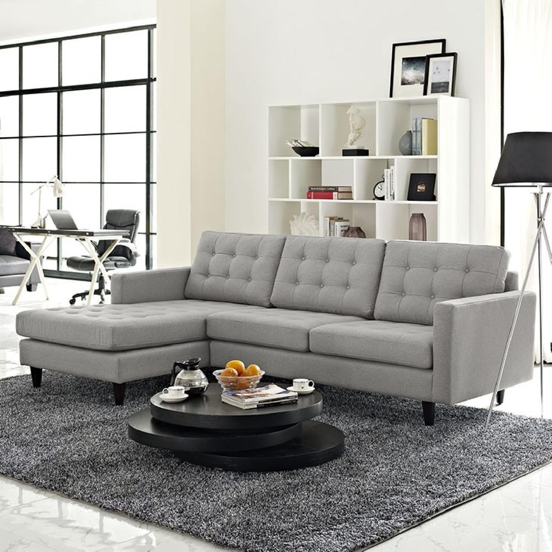Grey Sectional Sofa - image-3