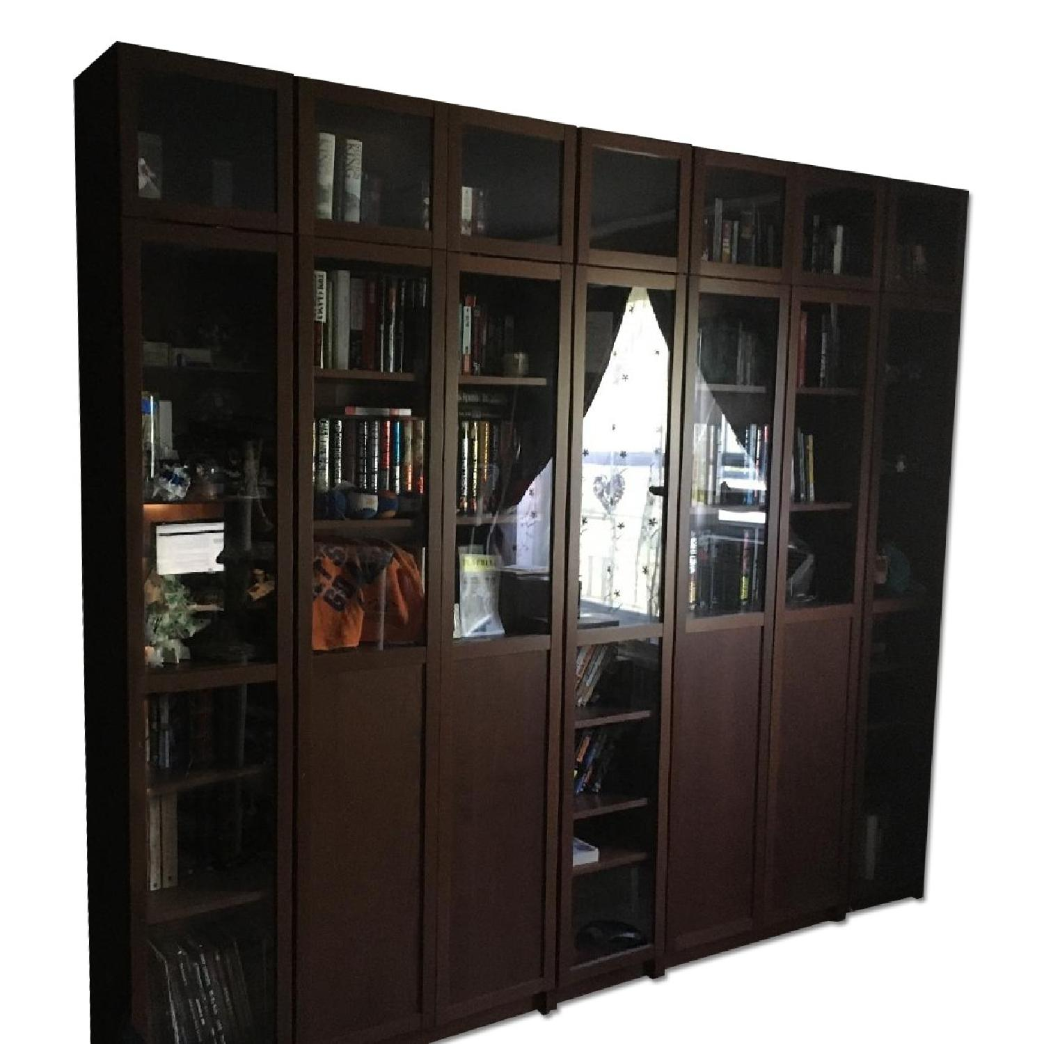Ikea Billy Bookcases - image-0