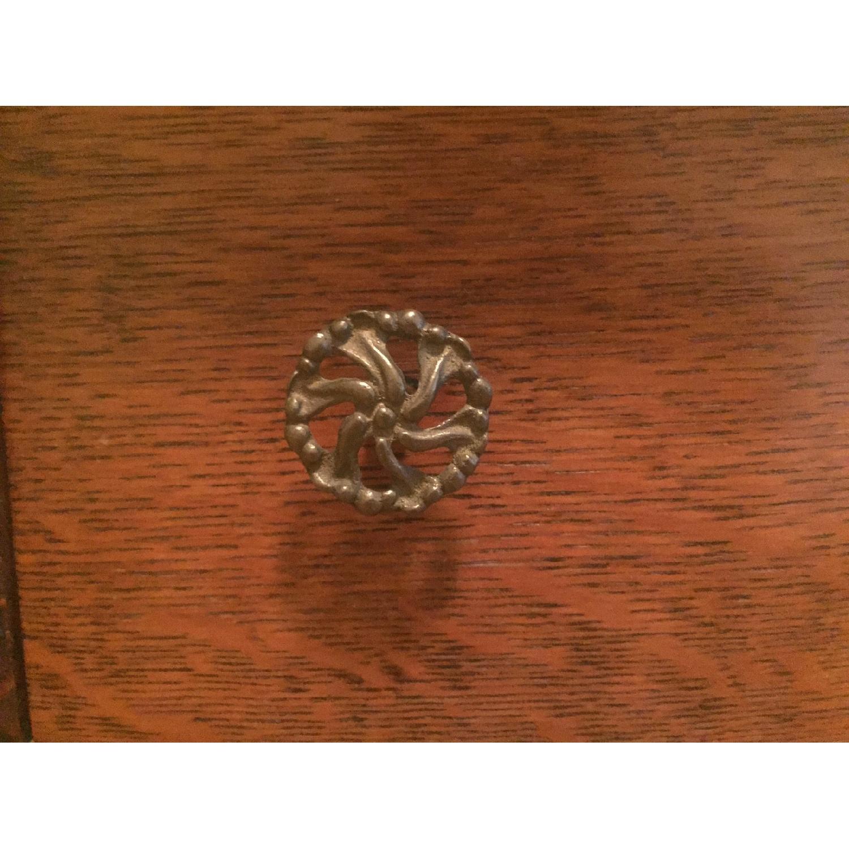 1920s Tiger Oak Dresser - image-4