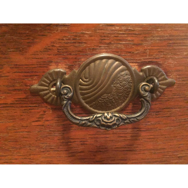 1920s Tiger Oak Dresser - image-5