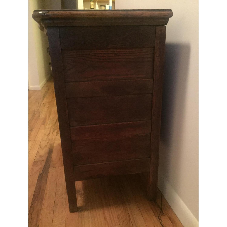 1920s Tiger Oak Dresser - image-6