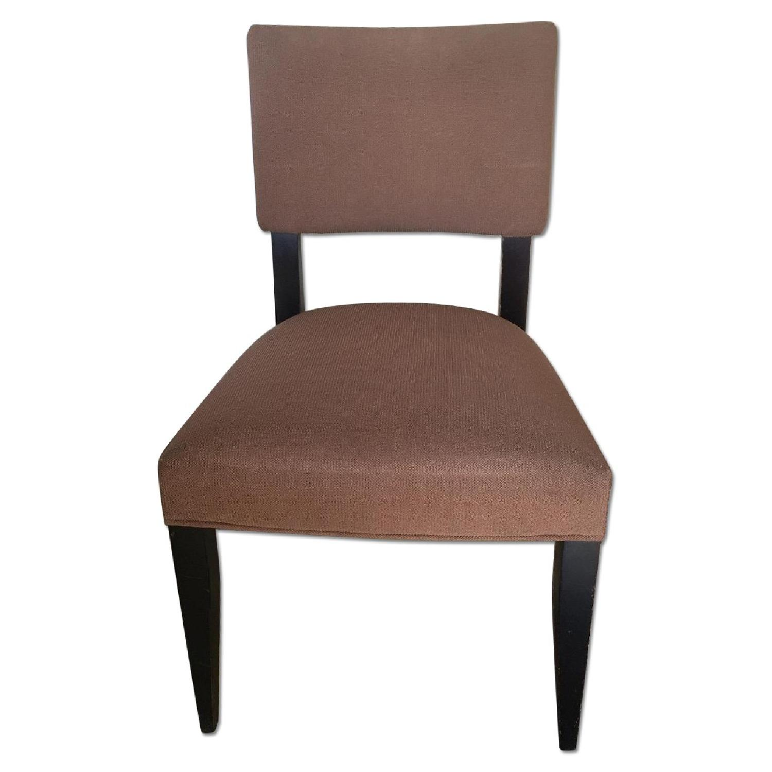 Crate & Barrel Cody Dining Chairs - image-0