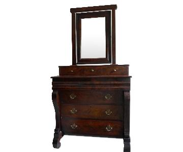 Antique Empire Bureau