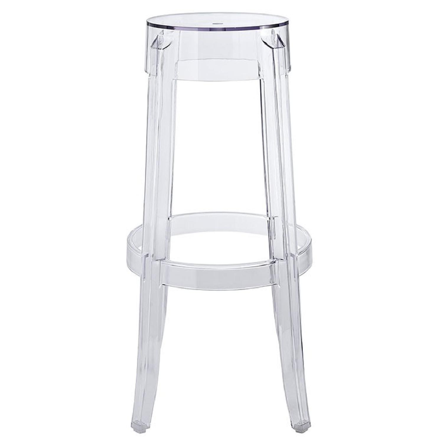 Clear Bar Stool - image-1