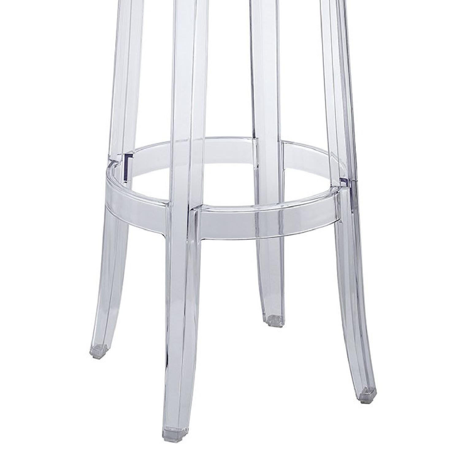 Clear Bar Stool - image-2