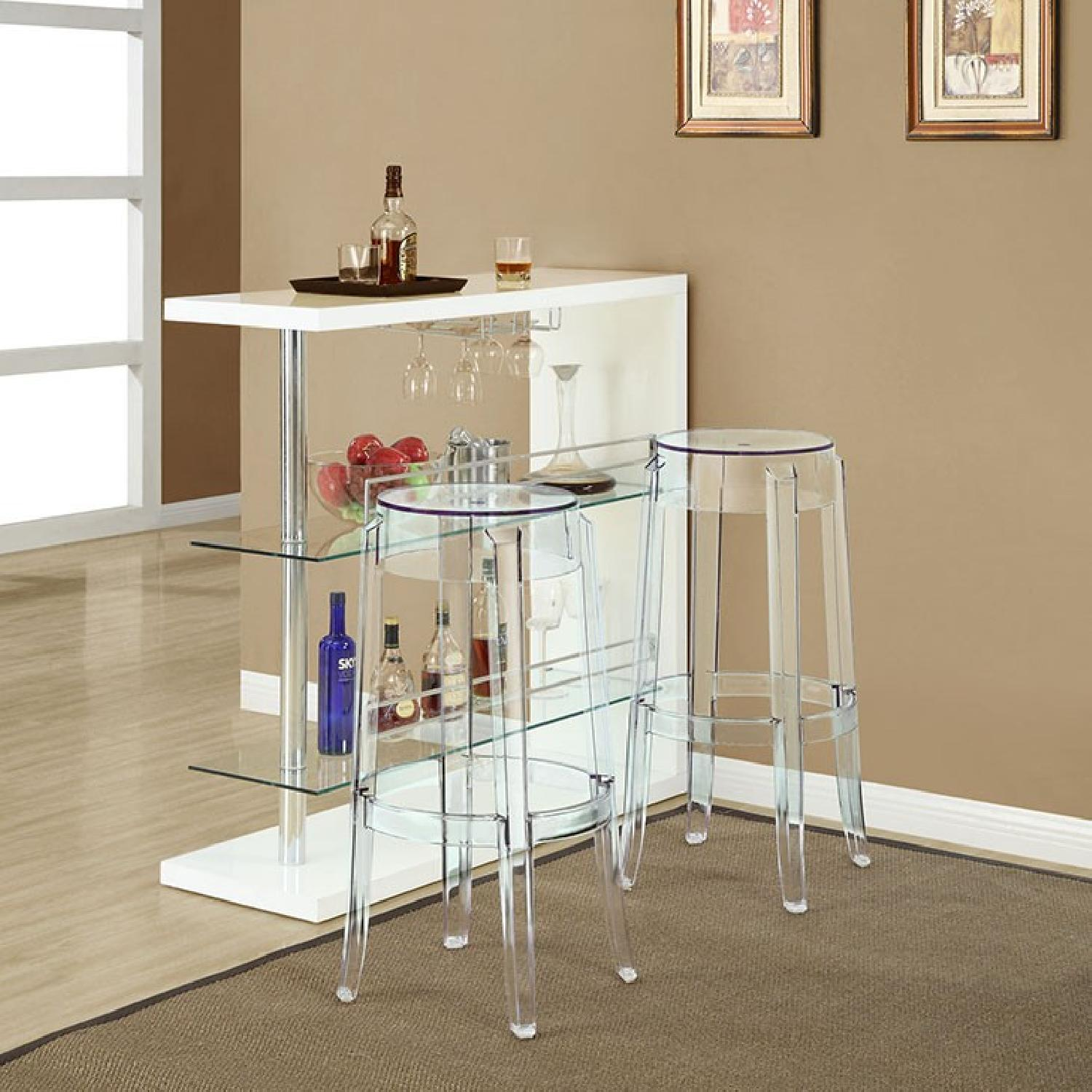 Clear Bar Stool - image-3