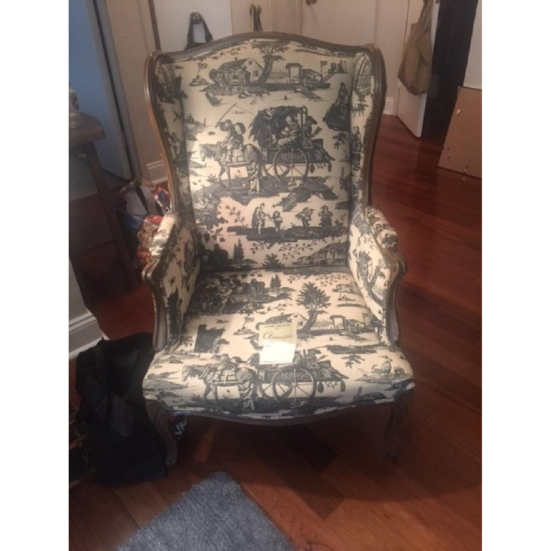 Bloomingdale's Wingback Chair - image-1