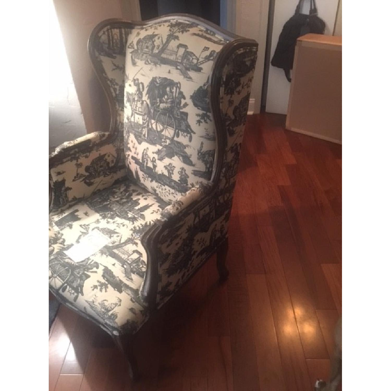 Bloomingdale's Wingback Chair - image-2