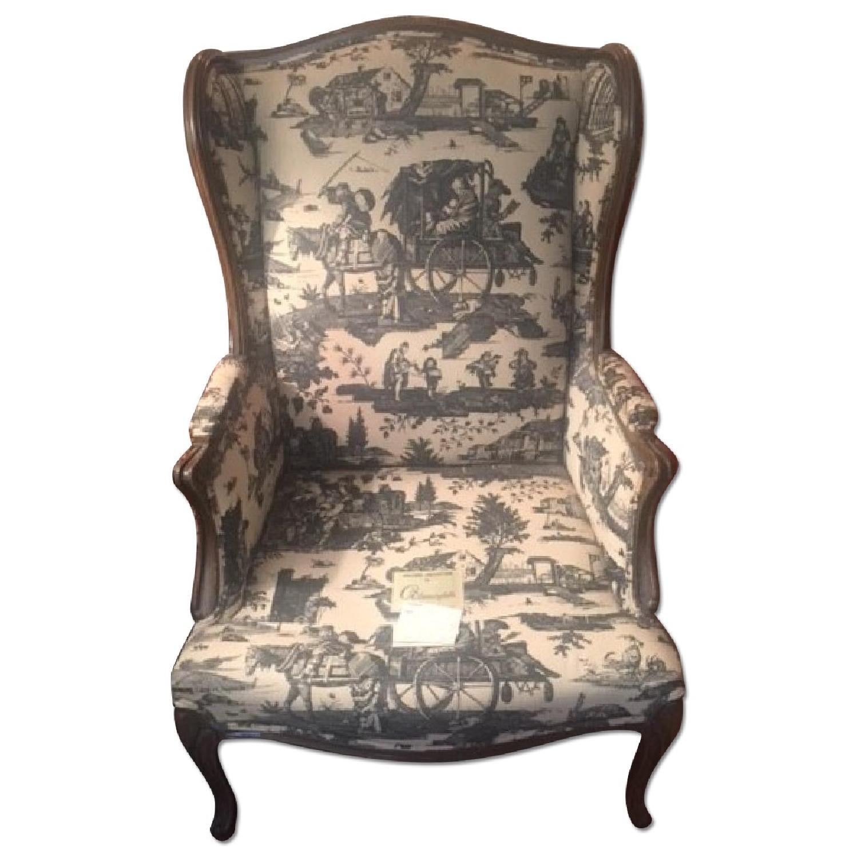 Bloomingdale's Wingback Chair - image-0