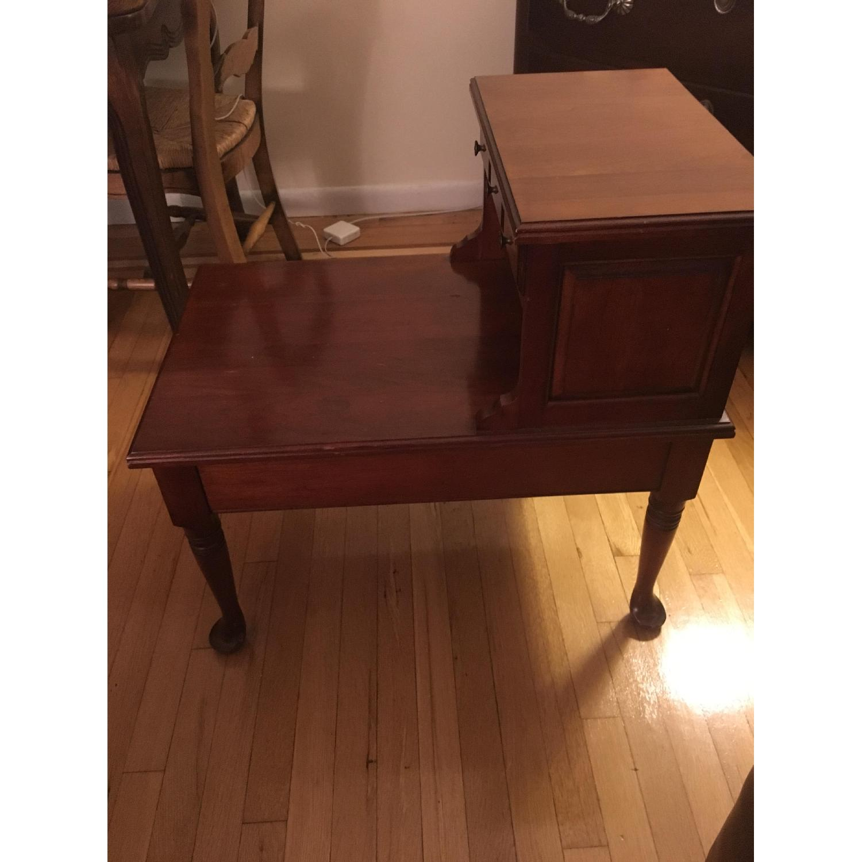 Maple Wood Side Table - image-2