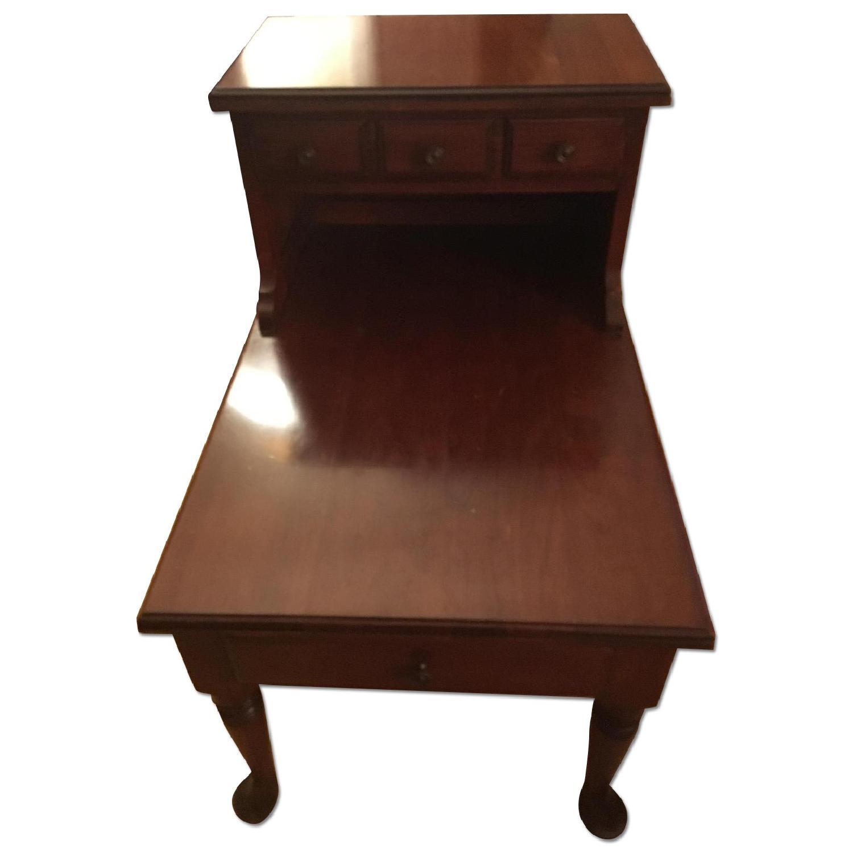 Maple Wood Side Table - image-0
