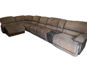 Bob's Dawson 7 Piece Sectional Sofa