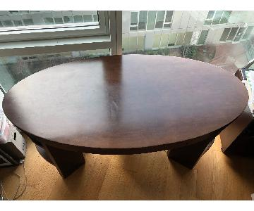 Manhattan Cabinetry Custom Mahogany Desk