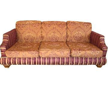 Upholstered 3-Seater Sofa
