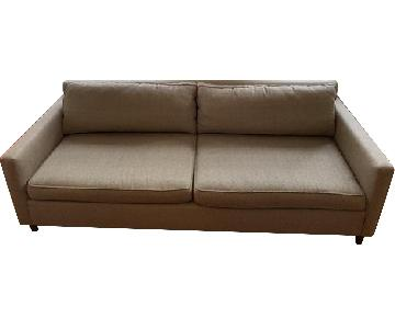 Mitchell Gold + Bob Williams Beige Fabric Sofa