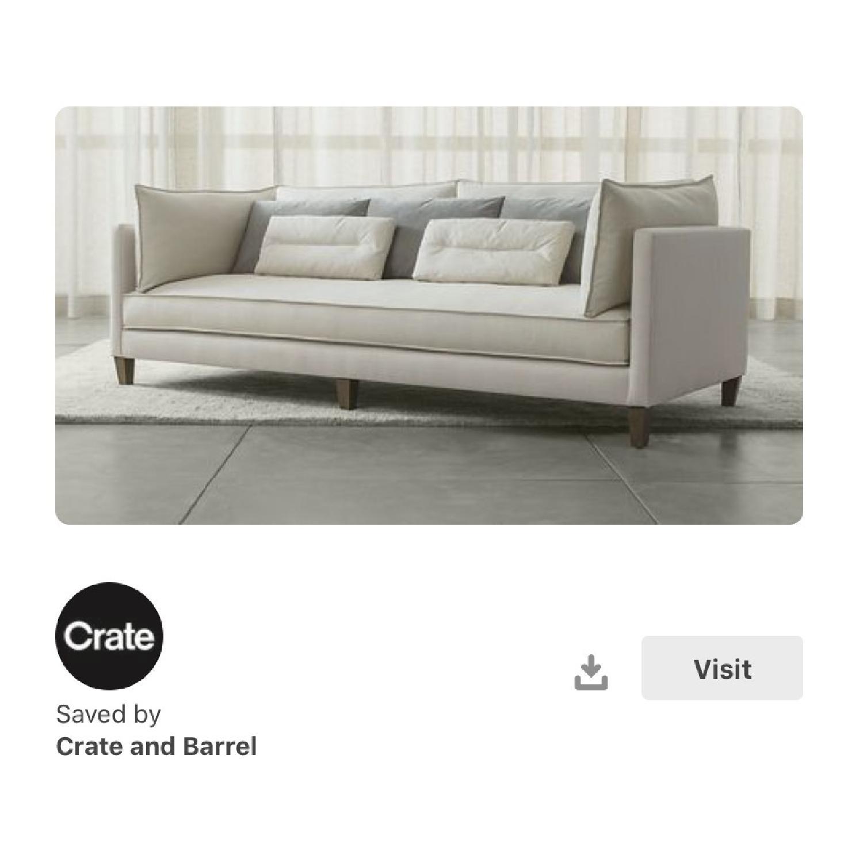 Crate & Barrel Asana Sofa-2