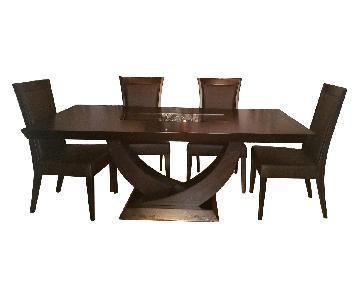 Huffman Koos 7-Piece Extendable Modern Dining Set
