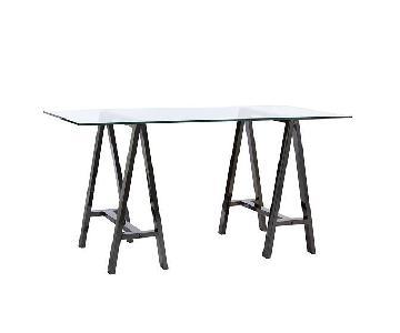 West Elm Sawhorse Table