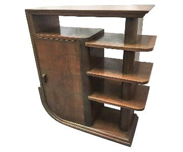 Art Deco Display Shelf
