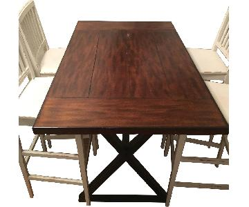 Crate & Barrel High Top Dining Table