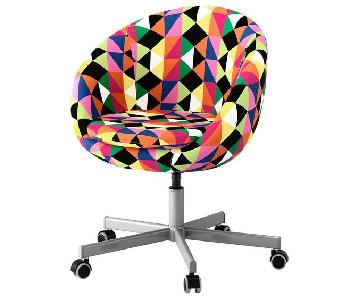 Ikea Skruvsta Multicolor Swivel Chair