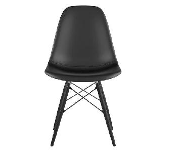 NyeKoncept Dowel Leather Upholstered Dining Chair