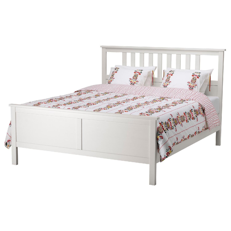 Ikea Hemnes Full Bed Frame in White