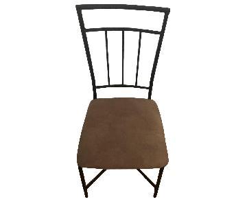 Black Metal Kitchen Chair