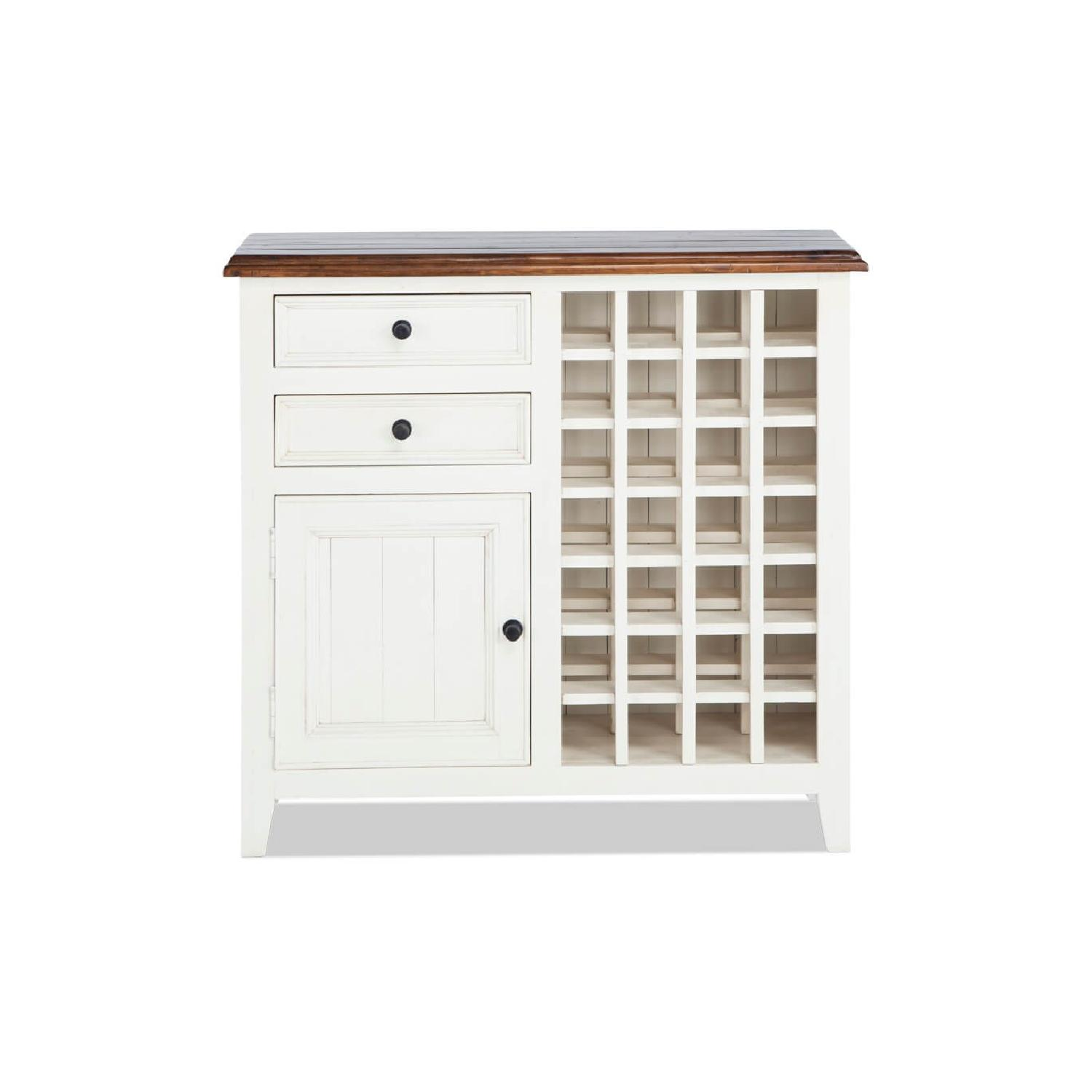 Bob's Wine Storage Cabinet White