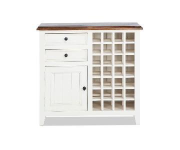 Bob's Wine Storage Cabinet White