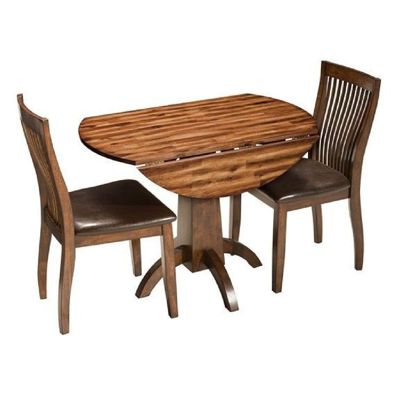 Raymour & Flanigan Nevada 3-Piece Dining Set