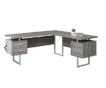 Latitude Run Darroll L-Shaped Desk