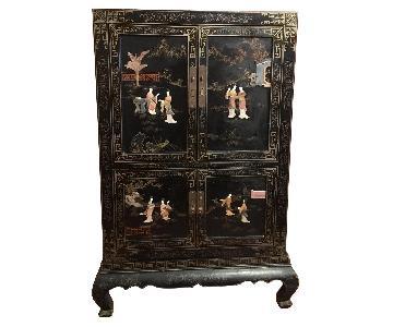 Vintage Large Asian Cabinet